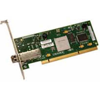LSI Logic LSI7104XP-LC PCI-X Single-port 4 Gb/s Fibre Channel FC Host Bus Adapter. Card Only.