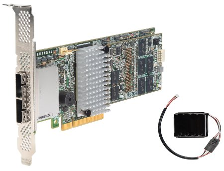 Intel RS25SB008 6Gb/s PCI-E 3.0 SAS RAID Controller. 1GB Cache. MFBU Included. (OEM LSI 9286CV-8e)